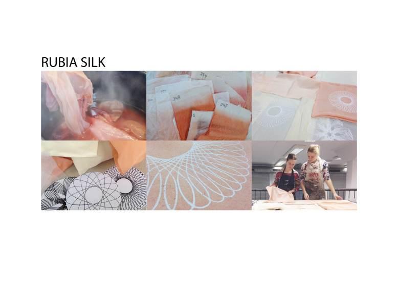 Rubia silk A4